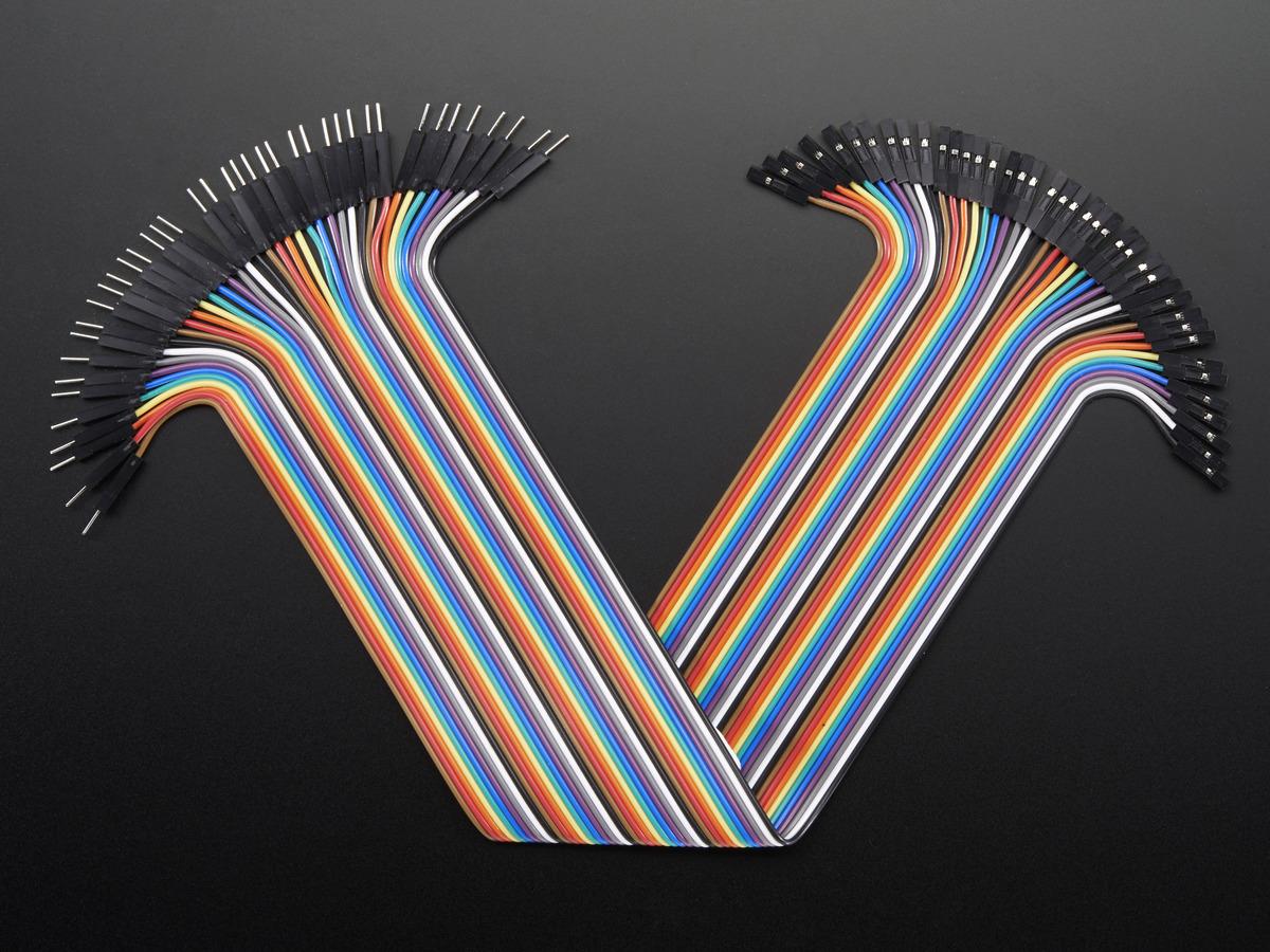 Premium Female Male Extension Jumper Wires 20 X 3 Id 1953 Wiring Harness Design Job Description 40 12 300mm
