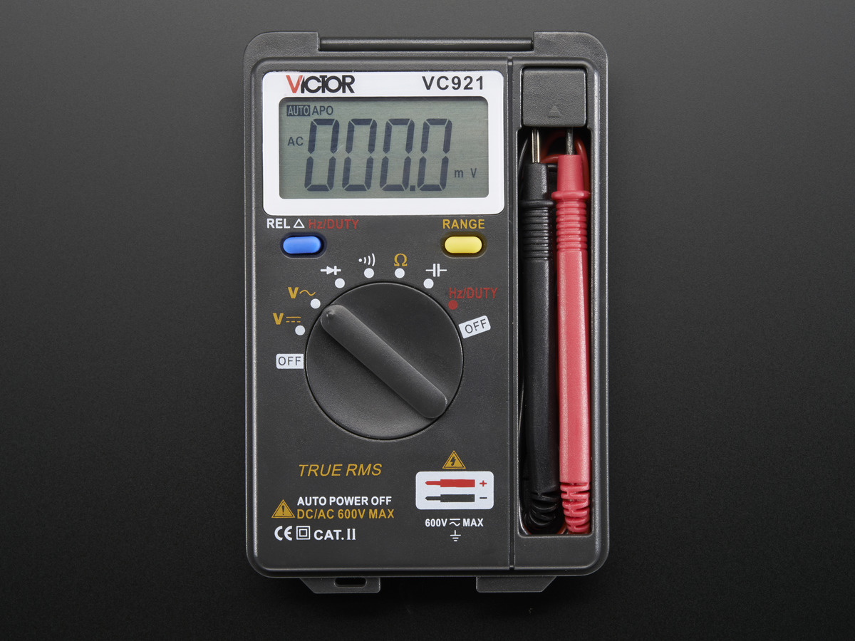 Pocket autoranging digital multimeter id 850 2495 adafruit 8505 buycottarizona Choice Image