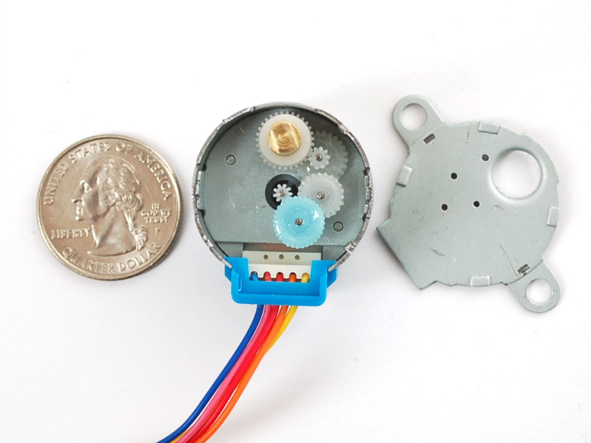 Small Reduction Stepper Motor 5vdc 32 Step 1 16 Gearing