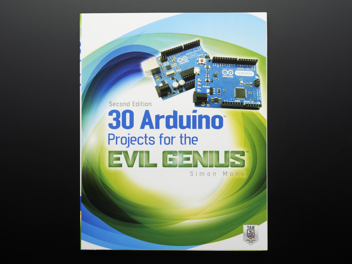 30 Arduino Projects For The Evil Genius By Simon Monk  2nd Ed