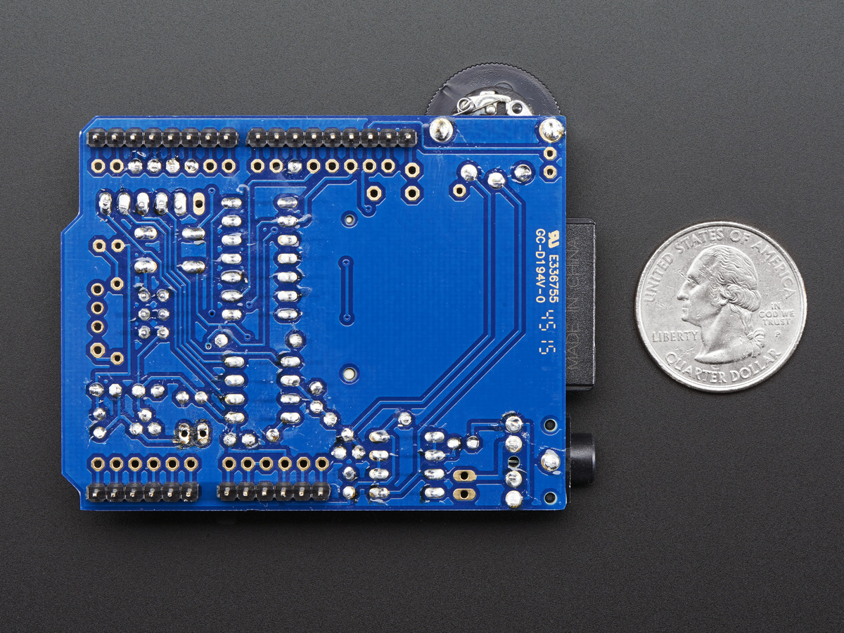 MP3/WAVE shield for Arduino- Shield for Arduino that