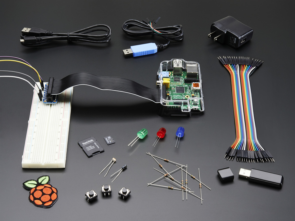 Kits Packs Adafruit Industries Unique Fun Diy Electronics And Details About Educational Circuit Starter Kit Manual Raspberry Pi Model B Pack Doesnt Include 1