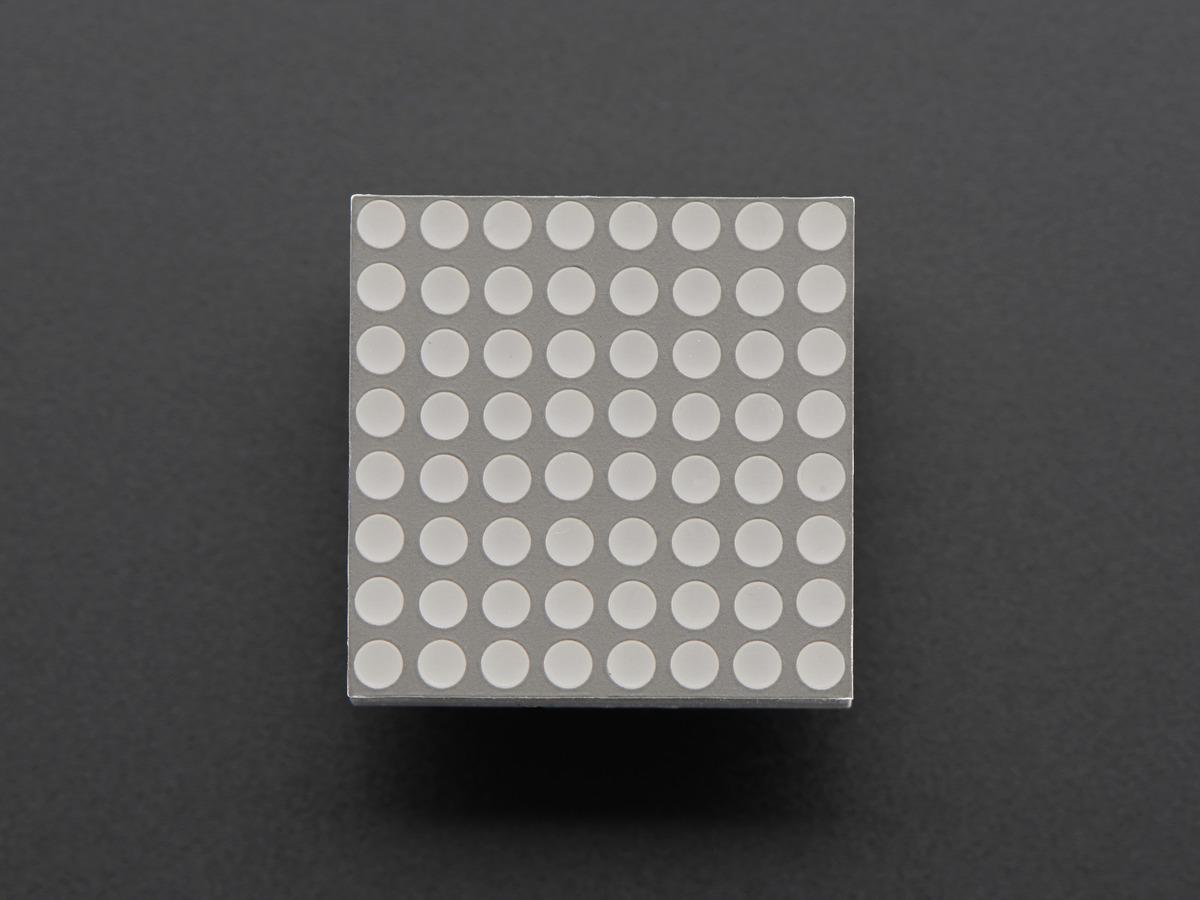 Miniature 8x8 Blue LED Matrix