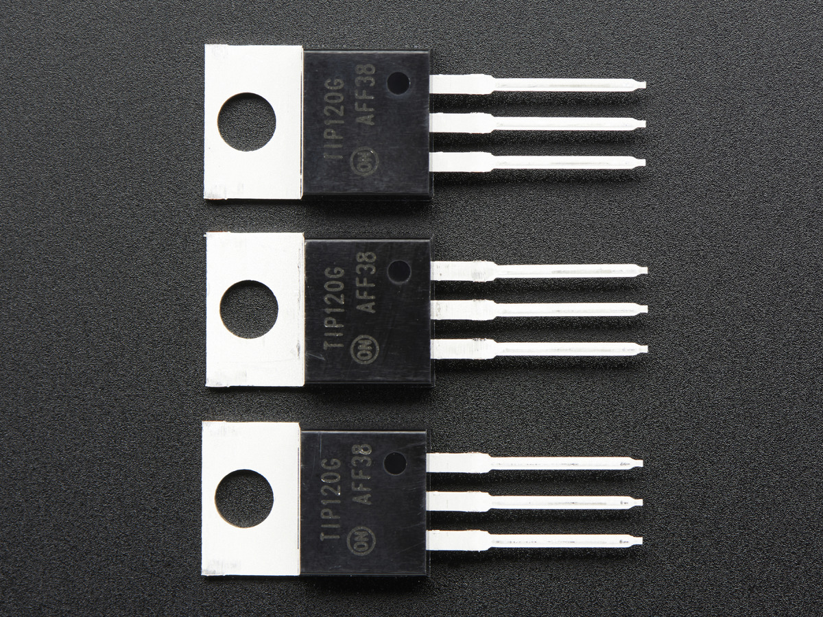 Circuit Uses Power Transistors Pair Of 5 X Tip120 Darlington 3 Pack Id 976 250