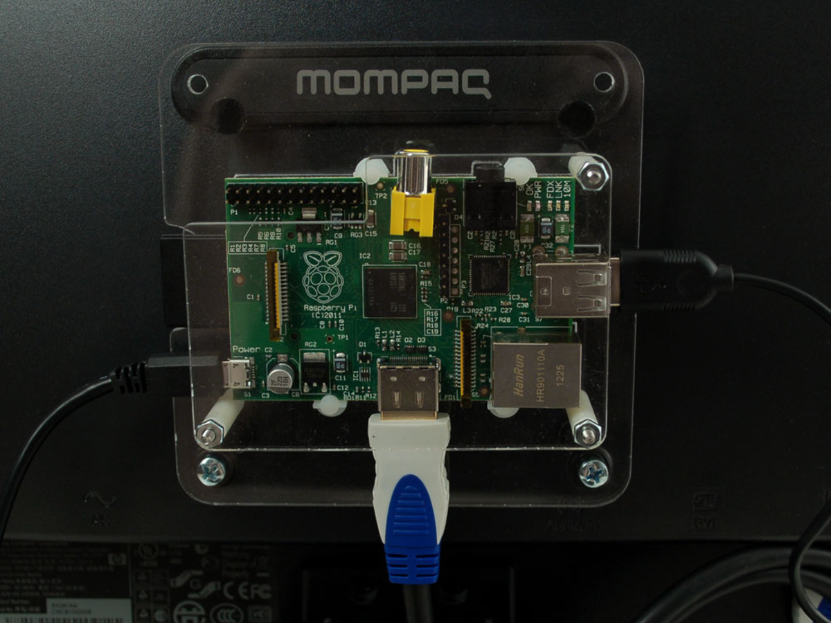 Vesa Mount For Raspberry Pi Model A And Model B Id 986