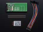 Kit contents with breakout, E-Ink, cable and header