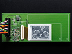 E-Ink breakout board with image of cat, inverted