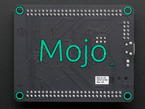 Back of board with large MOJO logo