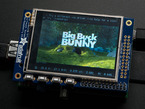 Big Buck Bunny movie playing on TFT installed on Pi