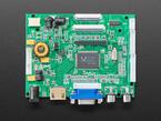 "Top shot of 10.1"" Display & Audio 1280x800 IPS - HDMI/VGA/NTSC/PAL"