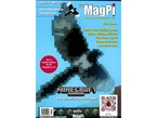 Front cover of The MagPi, issue 11, a magazine for raspberry pi users. A pixellated hawk against a blue background. This issue... control your heating system. Make a wireless pi-point. Print from your Pi. Create an intranet... and much more.