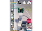 """Front cover of magazine """"The MagPi - Issue 14"""" featuring the camera module."""