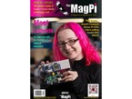 """Front cover of magazine """"The MagPi - Issue 9"""" featuring Ladyada."""