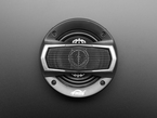 Top of speaker with grille