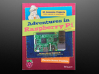 """Front cvoer of """"Adventures in Raspberry Pi 3rd Edition"""""""