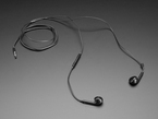 Cell-phone TRRS Headset - Earbud Headphones with Microphone