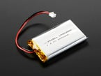 Lithium Ion Polymer Battery 3.7v 2000mAh with JST 2-PH connector