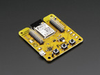 ACKme WiConnect WiFi Module - Mackerel Evaluation Board with module,  many buttons and header breakouts