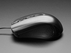 USB Wired Mouse - Two Buttons plus Wheel