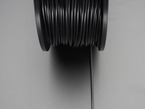 Detail shot of filament unwound from spool.