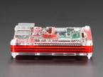 Side shot of assembled Pibow Coupé - Enclosure for Raspberry Pi 2 / B+ / Pi 3 / Pi 3 B.