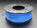 Spool of ABS Filament for 3D Printers - blue color with 1.75mm Diameter.
