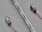 IR Break Beam Sensor with ruler blocking between receiver and transmitter