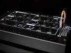Angle shot of synthesizer