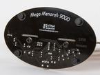 bottom of base showing MEGA MENORAH 9000 text
