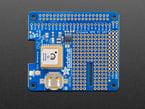 Top shot of Adafruit Ultimate GPS HAT for Raspberry Pi A+/B+/Pi 2/3/Pi 4