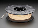 Spool of NinjaFlex Filament for 3D Printers - almond-peach smoothie color with 1.75mm Diameter.