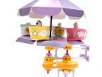 Assembled detail of teacup machine