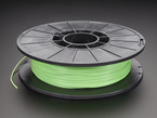 Spool of NinjaFlex Filament for 3D Printers - green grass color with 1.75mm Diameter.