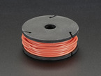 Silicone Cover Stranded-Core Wire - 25ft 26AWG - Red