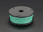Silicone Cover Stranded-Core Wire - 25ft 26AWG - Green