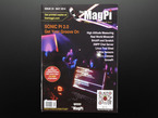 """Front cover of magazine """"The MagPi - Issue 23"""" featuring Sonic PI 2.0"""