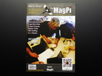 """Front cover of magazine """"The MagPi - Issue 24"""" featuring PiAcademy Training"""