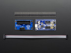 CMSIS-DAP JTAG/SWD Debug Adapter Kit with header, adapter, and SWD cable