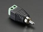 RCA Male Plug Terminal Block adapter