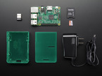 OctoPrint Parts Pack with Raspberry Pi, enclosure, WiFi dongle, power supply and card