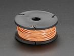 Small spool of orange wire