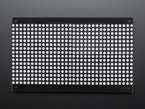 Top view of powered off powered on 32x16 Red Green Dual Color LED Dot Matrix - 7.62mm Pitch.