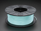 Spool of PLA Filament for 3D Printers - teal color with 1.75mm Diameter
