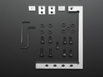 Othermill Precision Fixturing and Toe Clamp Set showing all hardware