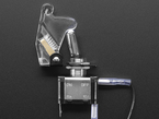 Toggle Switch with clear Cover, LED lit