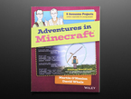 """Front cover of """"Adventures in Minecraft""""."""