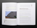 """Technical book opened to pages on adding random carpets in video game """"Minecraft"""""""