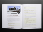 """Technical book opened to pages on building a 3D block scanner in video game """"Minecraft"""""""