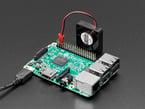 Fan plugged into Raspberry Pi