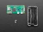 Raspberry Pi Zero, SD card and case